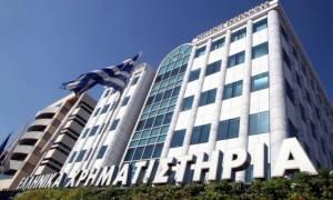 Στο «κόκκινο» το Χρηματιστήριο Αθηνών