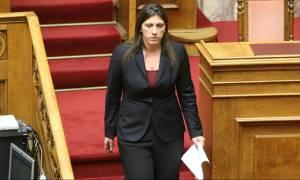 Συνέντευξη Τύπου για τον απολογισμό του έργου της Βουλής από τη Ζωή Κωνσταντοπούλου