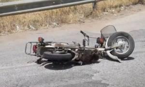Τραγωδία στη Λάρισα: 49χρονος μοτοσικλετιστής σκοτώθηκε σε τροχαίο