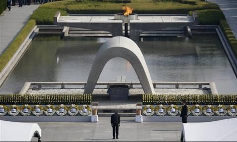 Τη μνήμη των νεκρών από την ατομική βόμβα στη Χιροσίμα τίμησε η Ιαπωνία (video)