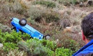 Ρέθυμνο: Αυτοκίνητο έπεσε σε γκρεμό - Πέντε οι τραυματίες