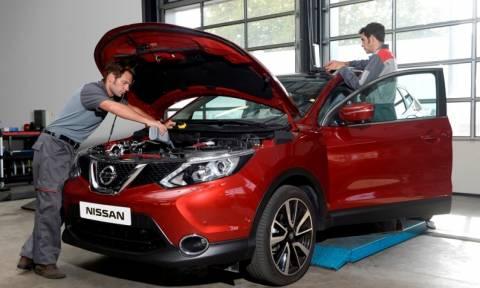 Nissan: Πλήρης διαθεσιμότητα ανταλλακτικών