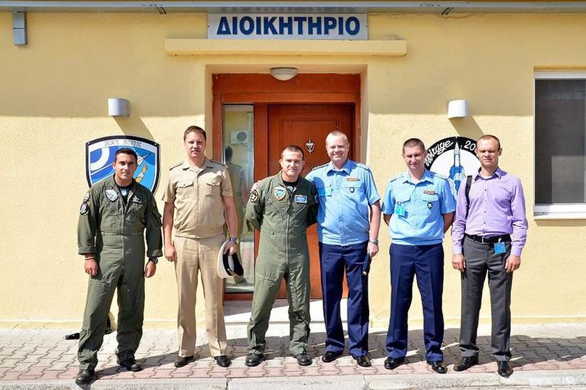 Επίσκεψη αξιωματικών της ΠΑ της Ρωσικής Ομοσπονδίας στην 114ΠΜ (pics)
