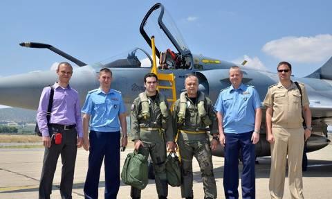 Επίσκεψη αξιωματικών της ΠΑ της Ρωσίας στην 114ΠΜ (pics)
