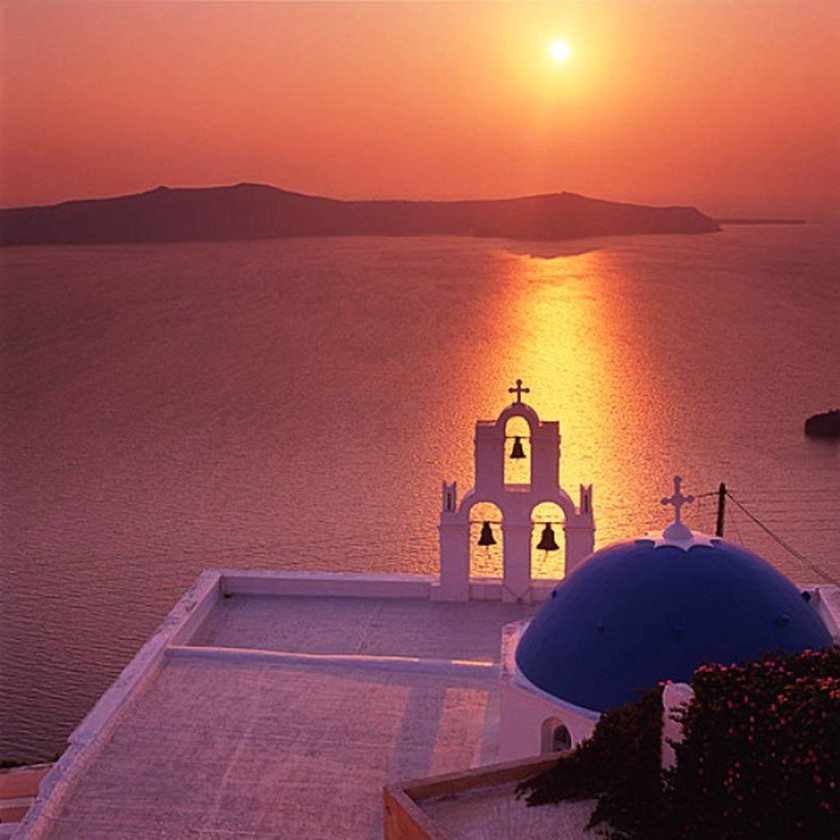 Σαντορίνη: Το καλύτερο ηλιοβασίλεμα του Αιγαίου (photos)
