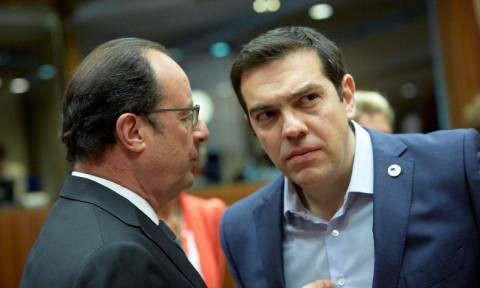 Τσίπρας και Ολάντ επιμένουν για συμφωνία μέχρι τις 20 Αυγούστου