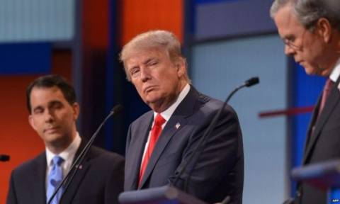 Defiant Donald Trump dominates US Republican TV debate