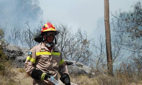 Σε ποιες περιοχές είναι πολύ υψηλός ο κίνδυνος πυρκαγιάς σήμερα (07/08)