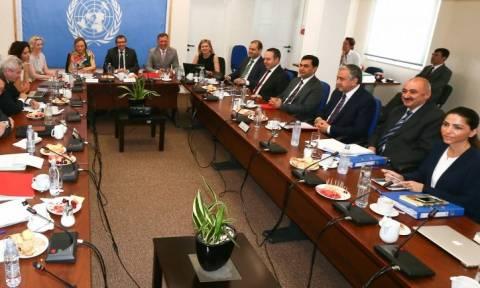 Μαυρογιάννης- Ναμί: Ενημέρωση για τις διαπραγματεύσεις για το Κυπριακό