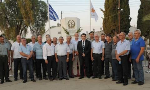 Ο Υπουργός Άμυνας Κύπρου στην εκδήλωση μνήμης του 70ου Τάγματος Μηχανικού