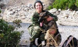 Ο γηραιότερος σκύλος του ελληνικού στρατού ξηράς πήρε... σύνταξη (pic)