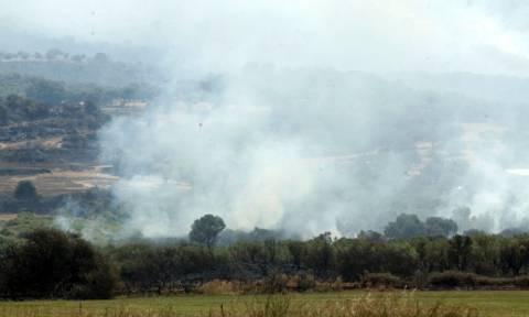 Μεγάλη πυρκαγιά στην Κόρινθο