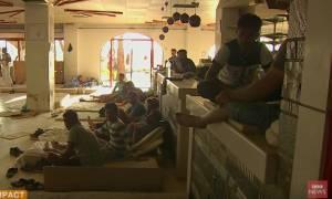 Το δραματικό οδοιπορικό του BBC στην Κω για τους πρόσφυγες (video)