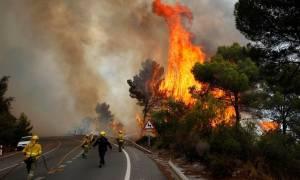 Υπό έλεγχο η μεγάλη πυρκαγιά στην Ισπανία