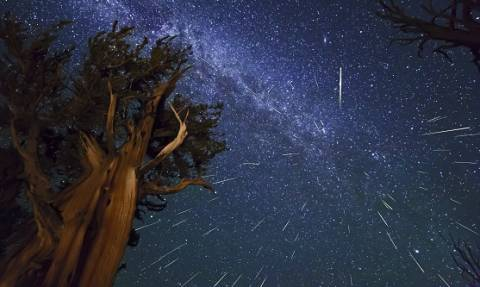 Βροχή από αστέρια στο νυχτερινό ουρανό, αύριο και μεθαύριο