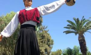 Λεμεσός- Γιορτή του Κρασιού: Έτοιμος να υποδεχτεί το κοινό ο βρακάς