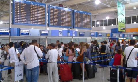 Αύξηση 12,75% στην επιβατική κίνηση στα αεροδρόμια