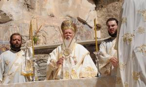 Στη Σουμελά του Πόντου για τον Δεκαπενταύγουστο ο Οικουμενικός Πατριάρχης