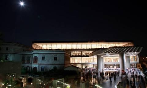 Αυγουστιάτικη πανσέληνος στο Μουσείο Ακρόπολης!