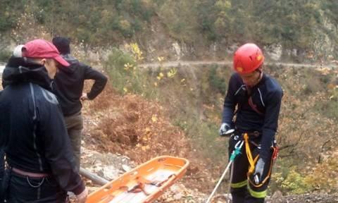 Συναγερμός στην Πιερία: Επιχείρηση διάσωσης τραυματία πεζοπόρου