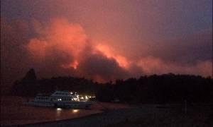 Ρωσία: Τεράστιες δασικές εκτάσεις παραδομένες στις φλόγες (video)