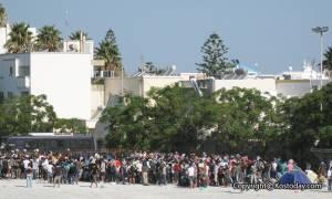 Κως: Ηρέμησαν τα πράγματα στο νησί - Αριθμός προσφύγων βρίσκεται στο δημοτικό στάδιο