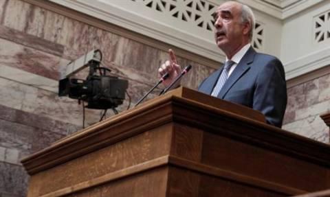 Με διαγραφές σε τυχόν διαφοροποιήσεις από την ψηφοφορία προειδοποιεί ο Μεϊμαράκης
