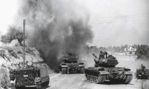 14/8/1974: Τουρκικά αεροσκάφη βομβαρδίζουν την Κύπρο