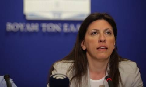 Δήλωση 32 βουλευτών κατά των επιθέσεων που δέχεται η Ζωή Κωνσταντοπούλου