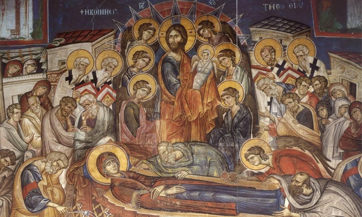 Η Κοίμηση της Θεοτόκου - Τι γιορτάζουμε σήμερα - Newsbomb - Ειδησεις - News