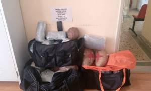 Καστοριά: Σύλληψη ενός 23χρονου με 30 κιλά χασίς ύστερα από τροχαίο