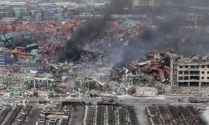 Κίνα: 112 οι νεκροί και 95 οι αγνοούμενοι από τις εκρήξεις στην Τιαντζίν