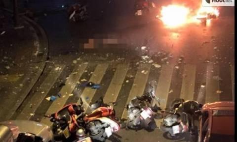 Τη στιγμή της έκρηξης στην Μπανγκόκ κατέγραψε κάμερα ασφαλείας (video & photos)