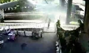 Ταϊλάνδη: Nέα βομβιστική επίθεση στην Μπανγκόκ - Δεν υπάρχουν τραυματισμοί (video)