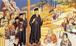 Κοσμάς ο Αιτωλός: Εορτάζεται η μνήμη του στις 24 Αυγoύστου-Oι προφητείες (video)