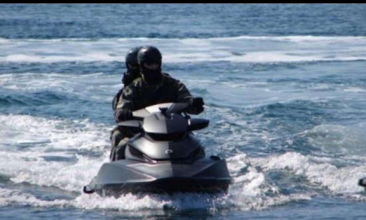 Μυτιλήνη: Τουρκικές «υπηρεσίες VIP» μεταφοράς μεταναστών με... τζετ σκι