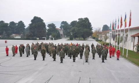 Παράδοση-παραλαβή στο στρατηγείο Τυρνάβου