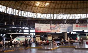 Με λεωφορεία του ΚΤΕΛ θα συνεχίσουν το ταξίδι τους οι μετανάστες του «Ελ. Βενιζέλος»