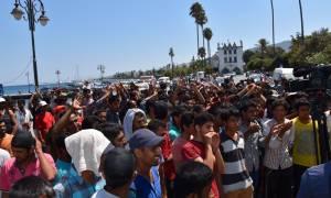Δήμαρχος Κω: Ανεξέλεγκτη η κατάσταση με τους μετανάστες