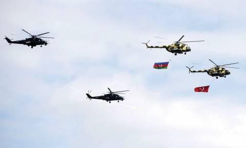 Τουρκία- Αζερμπαϊτζάν: Κοινές στρατιωτικές αεροπορικές ασκήσεις
