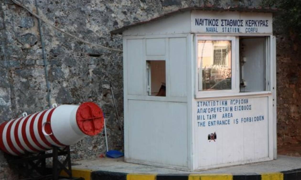 Αλλαγή φρουράς στο Ναυτικό Σταθμό Κέρκυρας