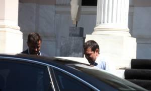 Ολοκληρώθηκαν οι συσκέψεις Τσίπρα με κομμματικά και κυβερνητικά στελέχη στη Βουλή