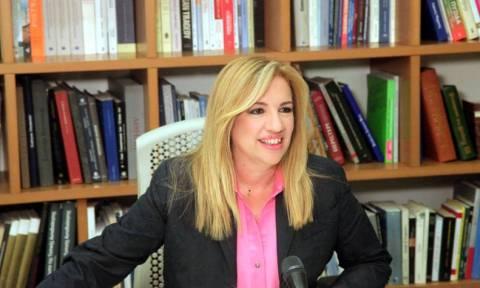 Εκλογές – Φώφη Γεννηματά: «Δραπέτης της ευθύνης για άλλη μία φορά ο Τσίπρας» (vid)