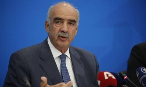 Εκλογές: Παρέλαβε τη διερευνητική εντολή για σχηματισμό κυβέρνησης o Β. Μεϊμαράκης