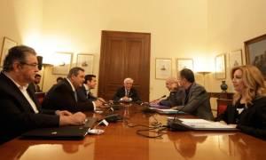 Πρόωρες εκλογές: Στο δρόμο προς τις κάλπες - Παρέλαβε τη διερευνητική εντολή ο Β. Μεϊμαράκης