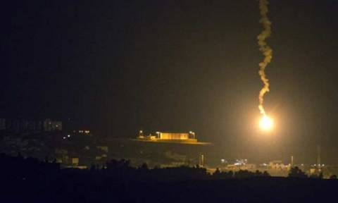 Ισραηλινή επίθεση εναντίον της Συρίας στα υψίπεδα του Γκολάν