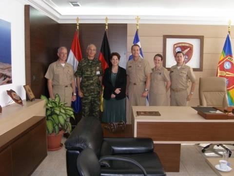 Στο Πεδίο Βολής Κρήτης ο Διοικητής της Ναυτικής περιοχής Ευρώπης, Αφρικής και Νοτιοδυτικής Ασίας!