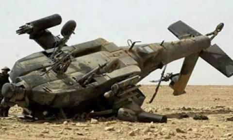 Σ. Αραβία: Δύο πιλότοι νεκροί από συντριβή ελικοπτέρου