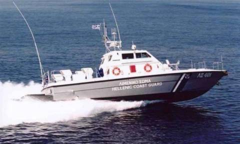 Στη Θεσσαλονίκη το ακυβέρνητο σκάφος από τις Σποράδες