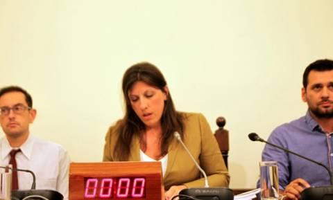Κωνσταντοπούλου: Οι μεθοδεύσεις κάποιων δεν θα παραλύσουν τη Δημοκρατία